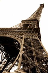 speak French at the Eiffel Tower